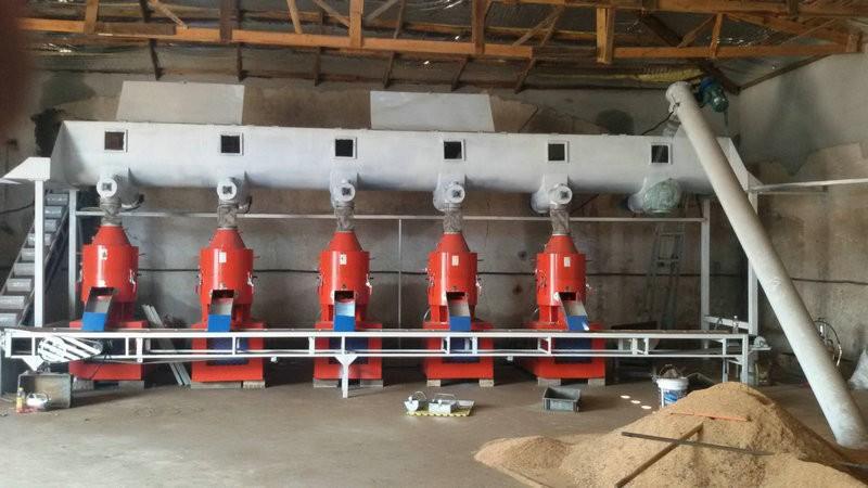 木屑颗粒机生产线